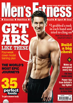 mens fitness front cover